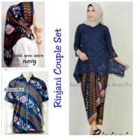 Cp Stelan Ulpia Kebaya Brukat Rok Lilit Hijab Jumbo Kemeja Batik