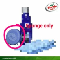 Turtle Wax Ice Busa Sponge only spon Applicator pad dari bundling