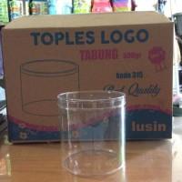 New Toples Nastar Kue Kering Tabung Plastik Mika Polos 500Gr - Logo