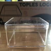 New Toples Nastar Kue Kering Persegi Plastik Mika Berkualitas