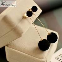 Anting korea cewek / pom earrings import jewellery 0308A