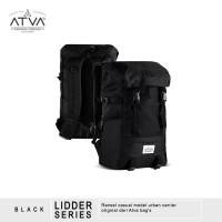 Tas Ransel Backpack Daypack Laptop Pria Wanita - Rayleigh Lidder Black