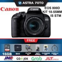 CANON EOS 800D KIT 18-55mm IS STM PAKET 16GB - CANON 800D