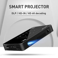 DLP MINI SMART PROJECTOR P10 ANDROID WIFI 6.0 OCTACORE 2GB/16GB 200INC