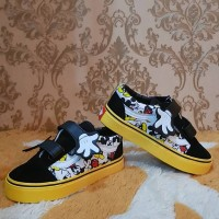 Sepatu Anak Vans Kids Karakter Mickey Mouse Size 21 - 35 Murah
