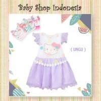 Dress Anak Perempuan Lucu Hello Kitty Dress Anak Cewek Import Murah