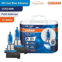 Osram Lampu Mobil H9 Cool Blue Advance 12V 65W - 62213CBH+