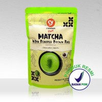 CY PURE MATCHA WITH BROWN RICE GENMAICHA 100% JAPAN IMPORT 100 GR