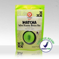 CY PURE MATCHA WITH BROWN RICE GENMAICHA 100% JAPAN IMPORT 50 GR