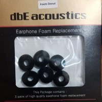 dbE Acoustics Earphone Foam ( Donat )