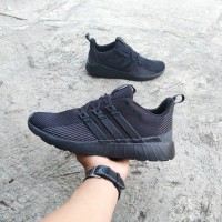 adidas questar flow full black original