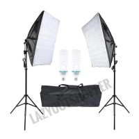 Paket payung studio softbox dan light stand