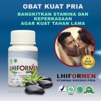 LHIFORMEN -Suplemen-Jamu-Obat-Herbal Kuat-Pria Penambah Stamina Pria