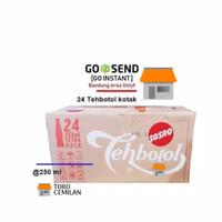 Sosro - Teh Botol Kotak 250ml - 24pack GO INSTAN BDG ONLY