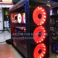 PC CPU RAKITAN GAMING AMD RYZEN 7 2700X FEAT GTX 1060 6GB RAM 16GB