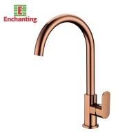Enchanting Kran Wastafel / Kitchen Rose Gold Cold Stainless - E1543