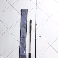 Rod spining kenzi torzite 165cm full fuji sehat bugar