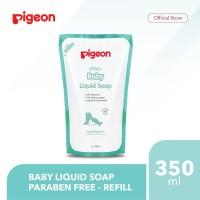 PIGEON Baby Liquid Soap 350Ml Refill – Paraben Free
