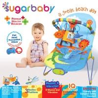 Sugar Baby Premium Healthy Bouncer Bayi 3 Recline - Great Beach Day