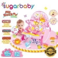 Sugar Baby My Rocker 3 Stages - Tea Time (Pink)