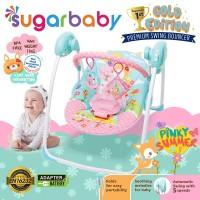 Sugar Baby Gold Edition Premium Swing Bouncer - Pinky Summer