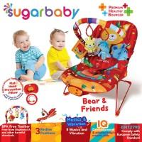 Sugar Baby Premium Healthy Bouncer Bayi 3 Recline - Bear & Friends