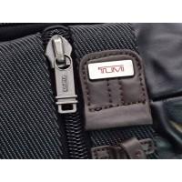 Tas Tumi Alpha Bravo Monterey Leather Hitam List Coklat Tua Ransel
