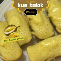 KUE BALOK DURIAN IMARA THE LEGEND (Isi 5 pcs)