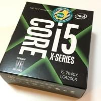 Processor Intel Core I5-7640X X-series
