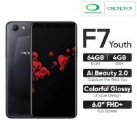 oppo F7 youth Ram 4GB/64GB 100% garansi resmi OPPO 1 tahun