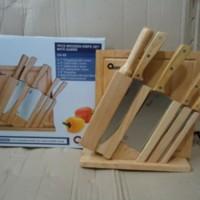 Pisau Oxone Set Wooden Series