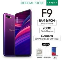 OPPO F9 Smartphone 6GB/64GB Starry Purple ( Garansi Resmi OPPO )