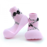Attipas Baby Shoes French Pearl Pink