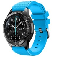 rubber strap silicone samsung gear s3 classic frontier tali jam tangan