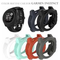 Color Silicone Case Bumper Softcase for GARMIN INSTINCT