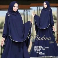 Gamis / Baju / Setelan Wanita Muslim New Madina Syari 2in1 HQ