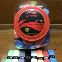 Grip badminton bulutangkis karet Li-Ning linning GP 18