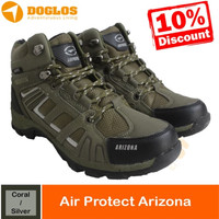 SEPATU GUNUNG AIR PROTEC ARIZONA CORAL SILVER SHOES HIKING OUTDOOR
