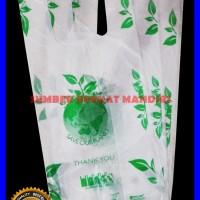 Kresek Thank You - Degradable Bag - Kresek Ramah Lingkungan 15 cm