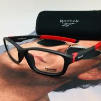 Kacamata Frame Pria Reebok 80360 Free Lensa Photocromic Grey Anti UV
