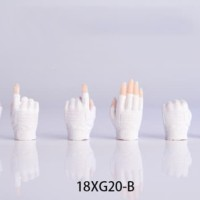 """4 Colors 1/6 Scale Gloves Hand Type 2.0 Gun Hand Model for 12"""" PH"""