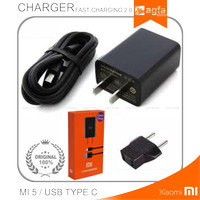 Charger Xiaomi Mi4c Mi4s Mi5 ori 100% Fast Charging Type C MDY 03 EB