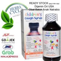 NatraBio Children Cough Sirup NatraBio Obat Batuk Sirup Anak Ori USA