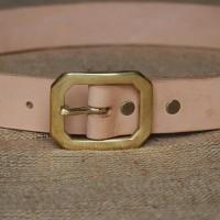 Sabuk kulit sapi / leather belt garrison I