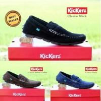 PROMO Slip On KICKERS Clasico Klasiko sepatu pria casual slip on selop