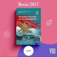 Buku PKN Pendidikan Kewarganegaraan SMP Kelas 8 Revisi 2017 2018