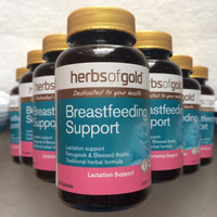 Herbs of Gold Breastfeeding Support 60 Tablets Original (ASI Booster)