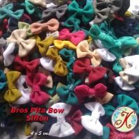 Aplikasi Pita Bow Siffon