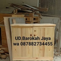 lemari kecil/rak tv/rak buku/rak furniture/rak kayu jati belanda