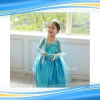 Kostum Elsa FROZEN Baju Anak Dress Anak Kostum Ulang Tahun